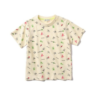 <SHOO・LA・RUE (Baby&Kids)/シューラルー>【90-130cm/オーガニックコットン】昆虫Tシャツ シロ104【三越伊勢丹/公式】