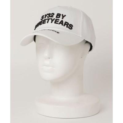 帽子 キャップ SY32 by SWEETYEARS /エスワイサーティトゥバイ スィートイヤーズ /TWILL CAP(LOGO)