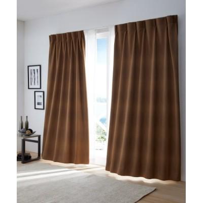 【送料無料!】ウェーブ柄防炎。遮光カーテン ドレープカーテン(遮光あり・なし) Curtains, blackout curtains, thermal curtains, Drape(ニッセン、nissen)