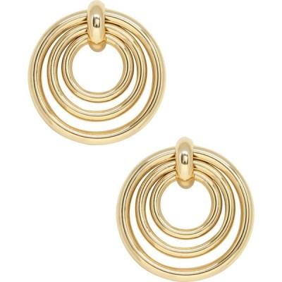エティカ ETTIKA レディース イヤリング・ピアス フープピアス ジュエリー・アクセサリー Multi Hoop Earrings Gold