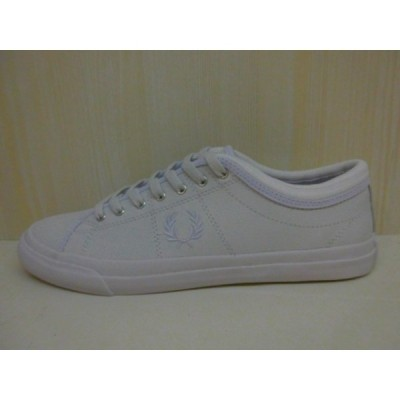 FRED PERRY Kendrick Tipped Cuff Leather (B7460U/100)(WHITE)