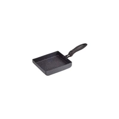 パール金属 NEWマーブルテック 玉子焼 ブラック 15×18cm IH対応