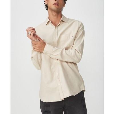 コットンオン シャツ トップス メンズ Brunswick Shirt 3 White