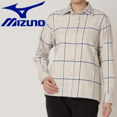 送料無料! ミズノ アウトドア&トラベル ブレスサーモトレイルシャツ レディース B2MC070702