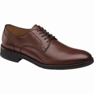 ジョンストン&マーフィー 革靴・ビジネスシューズ Carlson Plain Toe Oxford Oak Italian Calf Leather