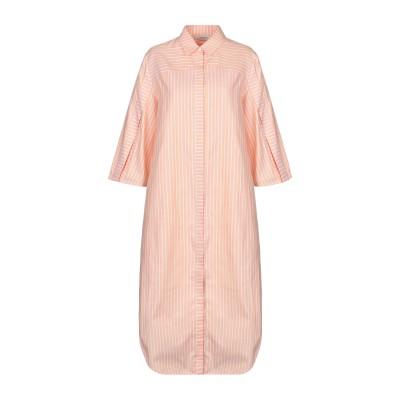CONSEPT 7分丈ワンピース・ドレス コーラル 34 コットン 100% 7分丈ワンピース・ドレス