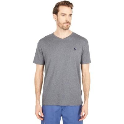 ラルフ ローレン Polo Ralph Lauren メンズ Tシャツ Vネック トップス Classic Fit V-Neck Tee Fortress Grey Heather