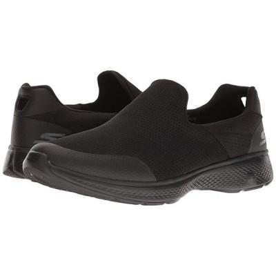 スケッチャーズ Go Walk 4 - Incredible メンズ スニーカー 靴 シューズ Black