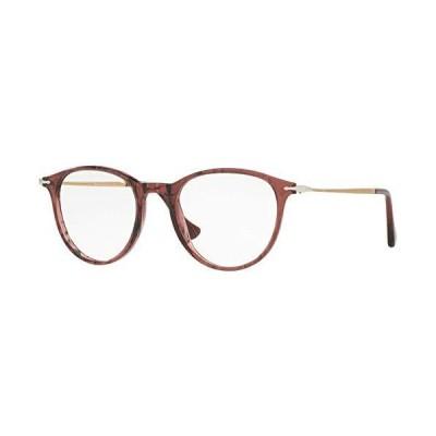 海外限定 Persol PO3147V Eyeglasses 50-19-140 Striped Cherry w/Demo Clear Lens 1054 PO3147-V PO 3147-V PO 3147V