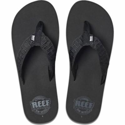 リーフ Reef メンズ サンダル シューズ・靴 Smoothy Sandals Black
