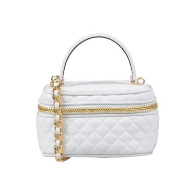 モスキーノ MOSCHINO ハンドバッグ ホワイト 紡績繊維 ハンドバッグ
