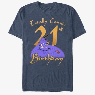 アラジン Tシャツ ディズニー Disney ジーニー Birthday 21 T-Shirt メンズ