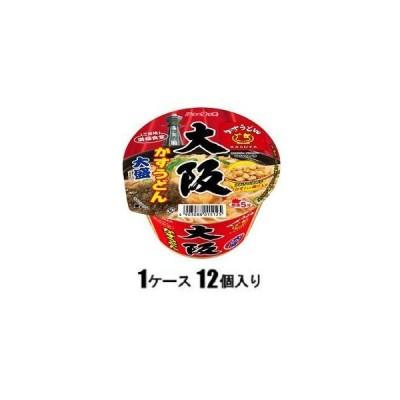 ニュータッチ 大盛 大阪かすうどん 129g(1ケース12個入) ヤマダイ 返品種別B