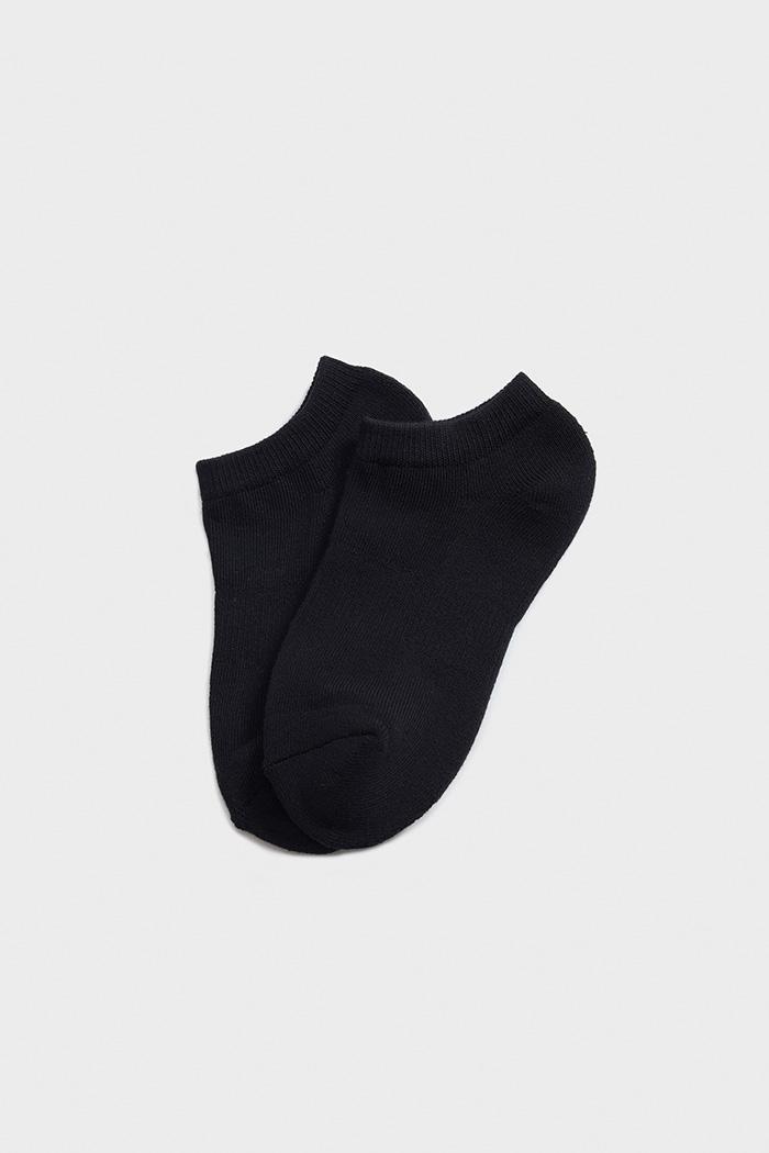 日常生活.舒棉船型襪(黑色)