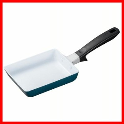 セラブリッド 卵焼き 13×18cm エメラルドブルー CF-EC-WBU-BC 京セラ 玉子焼き器 セラミック加工 CERABRID おしゃれ 調理 Kyocera 遠赤