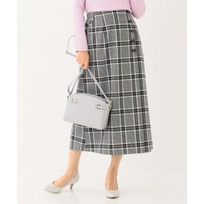 any SiS エニィスィス T/R チェックアソートスカート