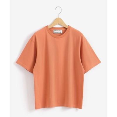 NIMES / ニーム バックプリントTシャツ MARINE