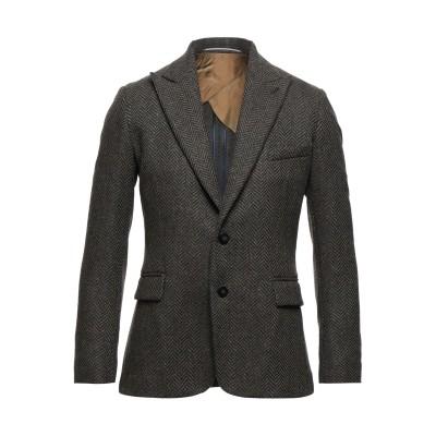 マエストラミ MAESTRAMI テーラードジャケット ブラウン 48 バージンウール 100% テーラードジャケット