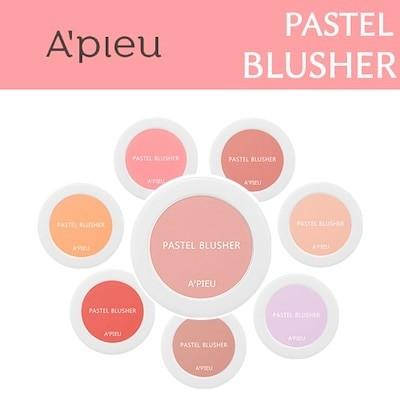 APIEU韓国SNS話題商品APIEU youtuber使用アイテムオピュパステルブラッシャー/ Pastel Blusher