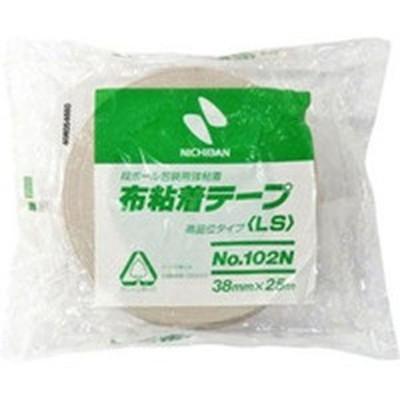 102N738 391-9935 ニチバン(株) ニチバン 布粘着テープ102N38ミリ WO店
