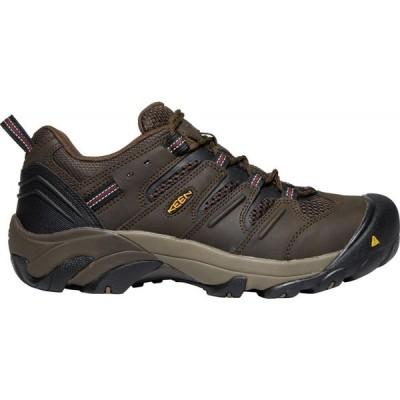キーン Keen メンズ シューズ・靴 KEEN Lansing Low Work Shoes Cascade Brown