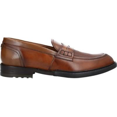 ブリマート BRIMARTS メンズ ローファー シューズ・靴 loafers Brown