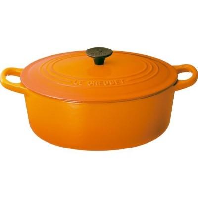 024147174134 ル・クルーゼジャポン ル・クルーゼ ココット・オーバル 25cm オレンジ 2502−25