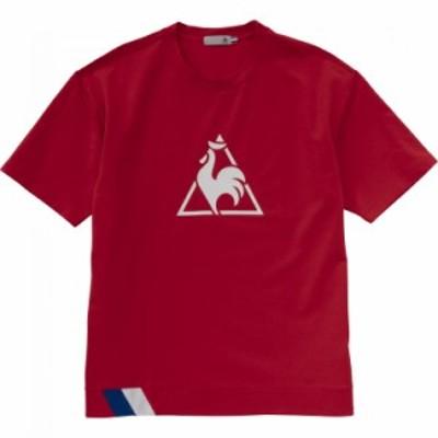 【メール便送料無料】ルコック 半袖シャツ メンズ QLMRJA01-RED