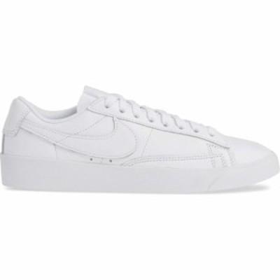ナイキ NIKE レディース スニーカー ローカット シューズ・靴 Blazer Low Se Sneaker White/White/White