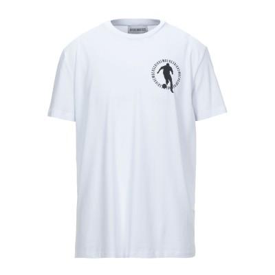 ビッケンバーグ BIKKEMBERGS T シャツ ホワイト XS コットン 95% / ポリウレタン 5% T シャツ