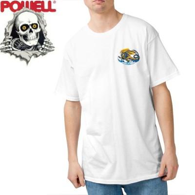パウエル POWELL スケボー Tシャツ OVAL DRAGON TEE NO71