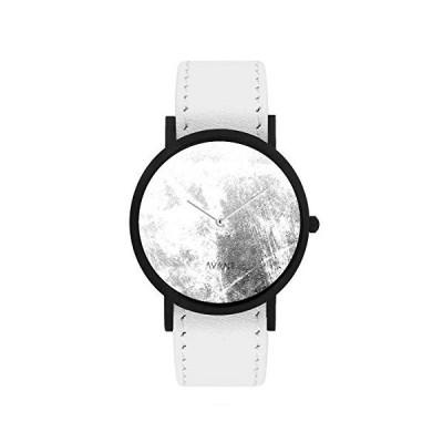 South Lane Stainless Steel Swiss-Quartz Leather Calfskin Strap, Black, 20 Casual Watch (Model: core-SL-157) 並行輸入品