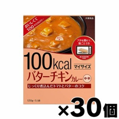 大塚食品 マイサイズ バターチキンカレー 120g×30個 4901150100045*30