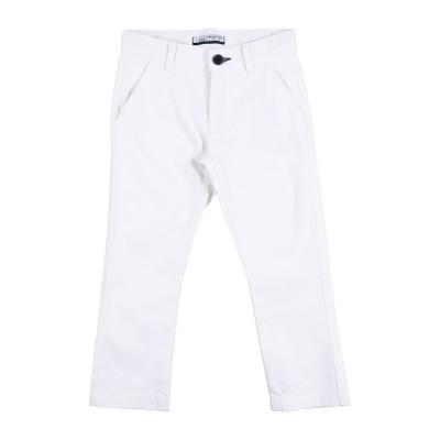 SARABANDA パンツ ホワイト 5 コットン 98% / ポリウレタン 2% パンツ