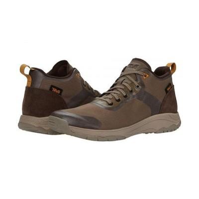 Teva テバ メンズ 男性用 シューズ 靴 ブーツ ハイキング トレッキング Gateway Mid - Chocolate Chip