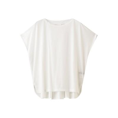 martinique マルティニーク ワイドネックTシャツ レディース ホワイト F