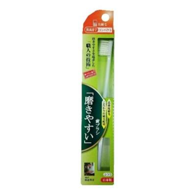 【×2本 メール便送料無料】ライフレンジ 磨きやすい歯ブラシ 奥歯までコンパクト先細 (SLP-12) 1本入 ※お色は選べません