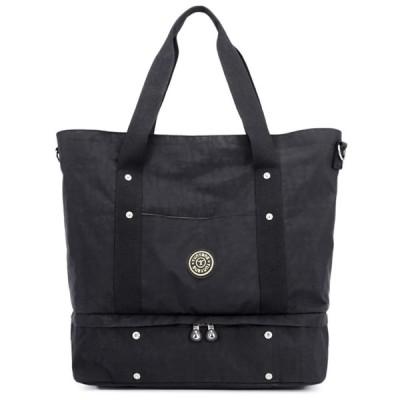 [キャプテン・ケイ] 2way トートバッグ ボストンバッグ シューズバッグ レディース ツーウェイ 軽量 バッグ バック カバン 鞄 シューズ クツ 靴 収納 入れ 手提