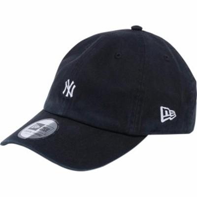ニューエラ(NEW ERA) キャップ Casual Classic ニューヨーク・ヤンキース MLB カスタム ミニロゴ ブラック 12540496 【帽子 カジュアル