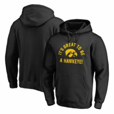 Fanatics Branded ファナティクス ブランド スポーツ用品  Fanatics Branded Iowa Hawkeyes Black Team Hometown Collection Pullover Ho