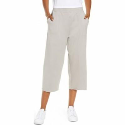 ナイキ NIKE レディース クロップド ボトムス・パンツ Crop Fleece Pants College Grey/Platinum Tint