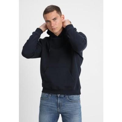 アーバンクラシックス メンズ ファッション BLANK HOODY - Hoodie - dark blue