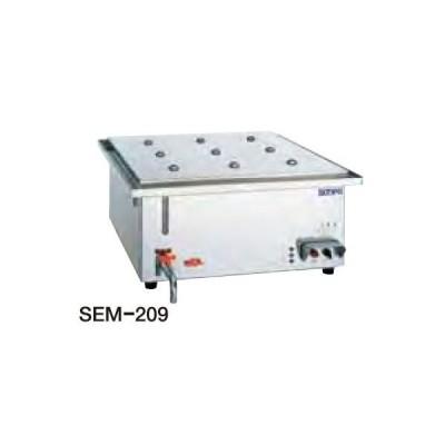 送料無料 新品 SANPO 電熱スーパーボイラーミニ(セイロタイプ) SEM-209  厨房一番