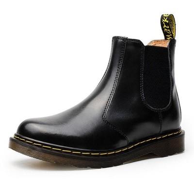 サイドゴアブーツ メンズ ショートブーツ 靴 カジュアルシューズ 無地 紳士靴 スエード 歩きやすい 2018秋冬新作-P210