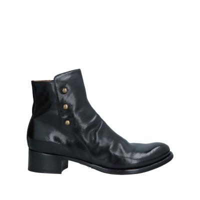 OFFICINE CREATIVE ITALIA ショートブーツ ブラック 40 革 ショートブーツ