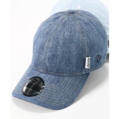 帽子 キャップ ニューエラ デニム ヒッコリー キャップ