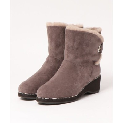 modaClea / ボアショートブーツ WOMEN シューズ > ブーツ