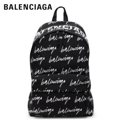 【2020-21AW】バレンシアガ  WHEEL BACKPACK ナイロン バックパック・リュック【ブラック×ロゴモノグラム】 507460 9MIPN 1090/BALENCIAGA/m-bag
