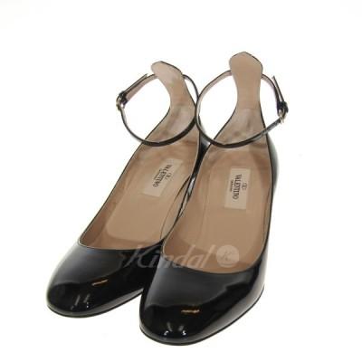 【3月5日値下】VALENTINO GARAVANI MW1S0105 パンプス ブラック サイズ:35 (三宮店)