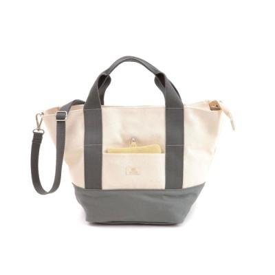 BASE / COOCO クーコ / トートバッグ レディース パスケース付き キャンバス 2WAY 多機能 WOMEN バッグ > トートバッグ
